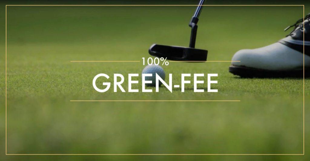 100% green-fee